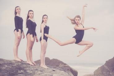 Ballerinas on the Rocks