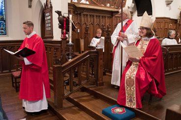 Holy Comforter Bishop Visit